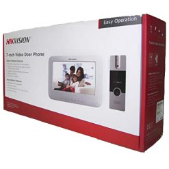 Hikvision 7-Inch Colourful TFT LCD Video Door Phone (White)