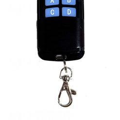 4 Button RF Remote for Smart Touch Switches RF 433mhz.